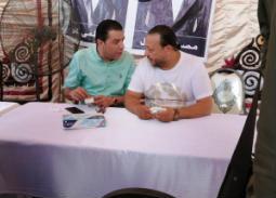 #انتخابات_الموسيقيين – صور ... حلمي عبد الباقي وطارق الشيخ وأحمد العيسوى أول الحضور