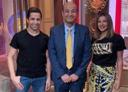 دنيا سمير غانم تشكر عمرو أديب وهشام جمال