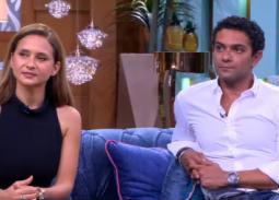 فيديو- تحدي الإيموجي بين آسر ياسين ونيللي كريم