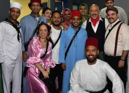 """صورة- آخر سيلفي لفريق """"مسرح مصر"""""""