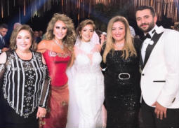 بالفيديو والصور- حفل زفاف ابنة طارق فؤاد