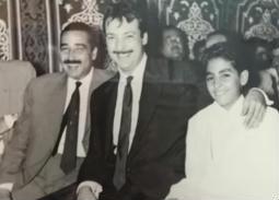 صور نادرة لرشدي أباظة مع عائلته