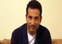 صورة- هكذا عَبر عمرو سعد عن حبه لنجله علي