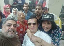 إيهاب توفيق ومحيي وحميدة في رسالة ماجستير حسام حسني