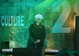 بالصور- ياسين التهامي يحيي ليلة صوفية في مهرجان القلعة