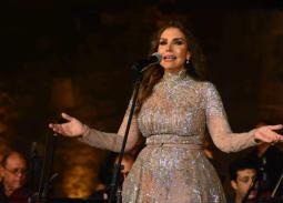 """بالصور- نادية مصطفى ومجد القاسم نجوم الليلة العاشرة في """"مهرجان القلعة"""""""