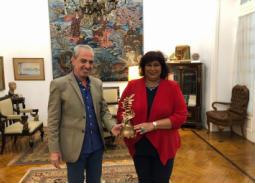 وزير الثقافة تبحث مع رئيس مهرجان الإسكندرية السينمائي استعدادات الدورة 35