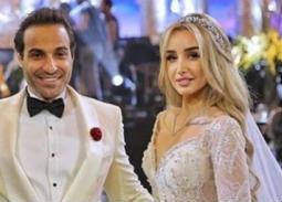 بالفيديو- رقص النجوم في حفل زفاف أحمد فهمي وهنا الزاهد