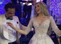 النجوم في حفل زفاف أحمد فهمي وهنا الزاهد