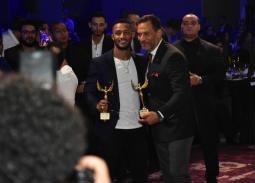 تكريم النجوم في مهرجان الفضائيات العربية