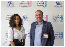 صور: ياسمين غيث تدعم مريضات سرطان الثدي
