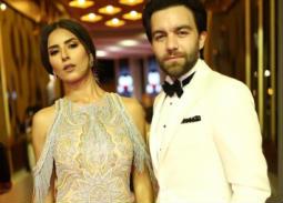 ثنائيات النجوم على السجادة الحمراء في افتتاح مهرجان الجونة