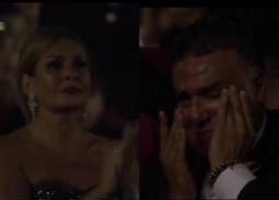 بالصور- سبب بكاء يسرا وتامر حبيب في افتتاح مهرجان الجونة