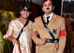 """صورة- هتلر يعيد مصطفى خاطر لمسرح مصر في عرض """"ميدان التاريخ"""""""