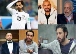 ردود أفعال الفنانين على أزمة محمد صلاح