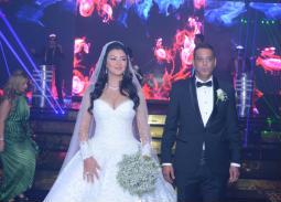 ربع مليون جنيه تكلفة فستان زفاف عروس هاني رمزي