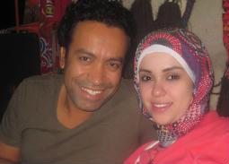 سامح حسين يحتفل بعيد زواجه التاسع: حياتي قبلك مش فاكرها