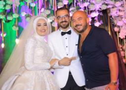 بالصور- محمود العسيلي بعد إحياء حفل زفاف معجبه: الحمد لله وفيت بوعدي