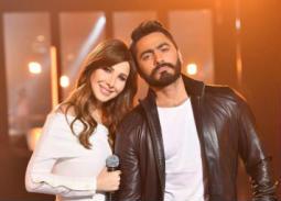 موعد حفل تامر حسني ونانسي عجرم في الرياض