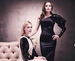 بالصور- أنجلينا جولي وإيل فانينج في جلسة تصوير جديدة للجزء الثاني من Maleficent