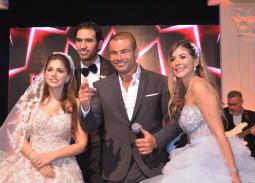 النجوم في زفاف شقيقة ملك قورة