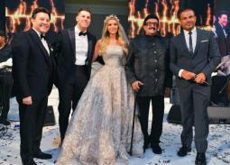 بالصور.. قائمة حضور حفل زفاف نجل هاني شاكر