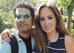 انفصال عمرو سعد عن زوجته