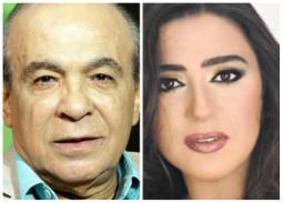 """صورة- وفاء صادق وهادي الجيار في كواليس """"فالنتينو"""" لعادل إمام"""