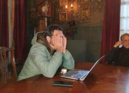 """كواليس تصوير حكاية """"ما يطلبه المستمعون"""" من مسلسل """"نصيبي وقسمتك 3"""""""