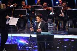 بالصور- محمد الحلو وفؤاد زبادي نجوم الليلة الرابعة في مهرجان الموسيقى العربية