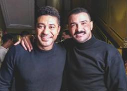 """محمد رجب ومحمد عز في كواليس """"الأخ الكبير"""""""