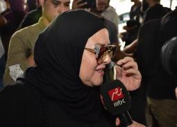 النجوم في جنازة هيثم أحمد زكي