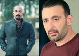 أحمد السقا يتولى دفن جثمان هيثم أحمد زكي