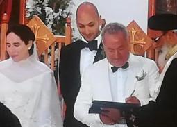 الصور الأولى لحفل زفاف ابنة سميح ساويرس