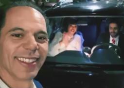 """فيديو- حفل زفاف داليا البحيري وحمدي الميرغني في كواليس """"فالنتينو"""""""