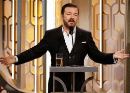 ريكي جيرفيز يقدم Golden Globes للمرة الخامسة