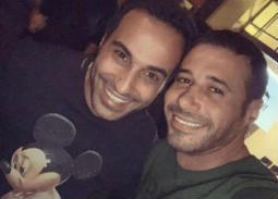 أحمد فهمي وأحمد السعدني
