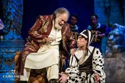 الملك لير يعود لجمهوره الجمعة ومعرض فني  في حب الفخراني