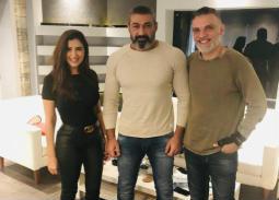 """مي عمر بطلة """"الفتوة"""" مع ياسر جلال"""
