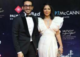 فيديو- رقصة منى زكي وأحمد حلمي في افتتاح مهرجان القاهرة السينمائي 41