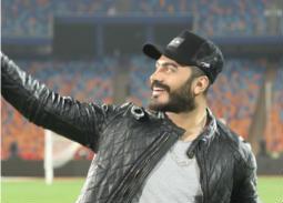 """""""إحنا جيل جديد"""" أغنية تامر حسني في حفل ختام كأس الأمم الإفريقية تحت 23"""
