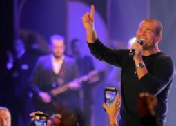 النجوم في حفل عمرو دياب على هامش مهرجان القاهرة السينمائي