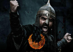 """محمود نصر، فنان سوري جسد دور """"سليم الأول"""" في المسلسل التاريخي """"ممالك النار""""."""