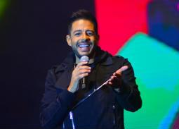 """محمد حماقي في حفل """"كايرو فيستيفال"""""""