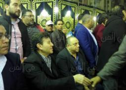 الصور الأولى من عزاء شعبان عبد الرحيم