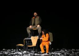"""صور- """"الديكتاتور""""... عرض لبناني بمهرجان الإسكندرية المسرحي العربي"""