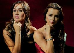 حلا شيحة ونور بإطلالتين ناعمتين على غلاف مجلة Vogue