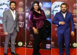 بالصور- توافد النجوم على ختام الإسكندرية المسرحي العربي