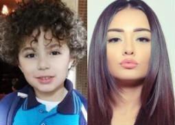 صور- راندا البحيري للطفل ياسين أمير: نفسي نبقى أصحاب