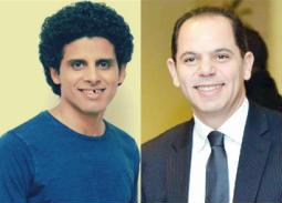 """نوبة ضحك تصيب رامي إمام وحمدي الميرغني بسبب مشهد للزعيم في """"فلانتينو"""""""